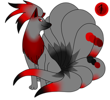 SIA - ninetails adoptable 1 (open) by TailTehEeveelution