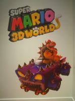 SM3DW at Nintendo World 22 by MarioSimpson1