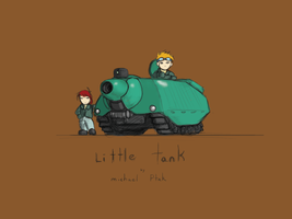 Little Tank Cover by Norsehound