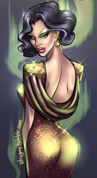 Miss Fame 02 by shygay