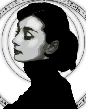 Audrey by paperclippenny