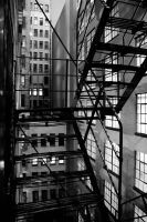 CHICAGO FIRE ESCAPE by right-angle