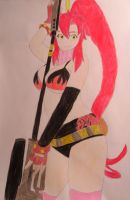 Yoko Littner Red by FlyingLion76