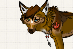 Fursona concept for Fell-blackheart by Akadafeathers