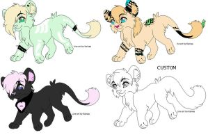 Feline Adopts: Open by Sis533