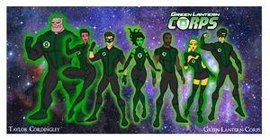 My DC Universe - Green Lantern Corps Redesigned by Femmes-Fatales