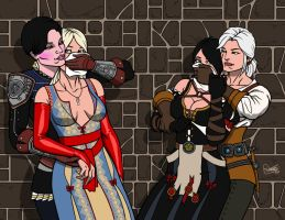 Witcher 3 Adventures - Double Take Down by Kaywest