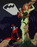 Harley and Ivy by Blackmoonrose13