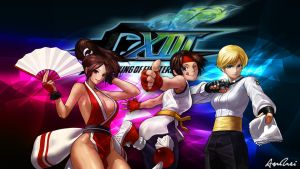 KOF XIII: Women Fighters by AioriAndrei