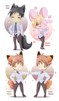 Ouran Fluff Part2 by maguro-chan