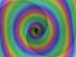 Rainbow Whirlpool by Thelma1