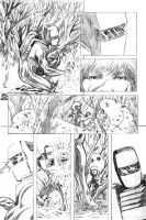 ROM vs THE HERCULOIDS - pencils - pg03 by RONJOSEPH-ARTIST