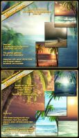 Background Mini Beaches by cosmosue