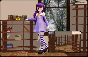 [MMD] Shelves/store Stage DL by OniMau619