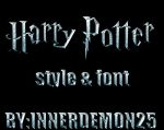 HARRY POTTER STYLE PACK by innerdemon25