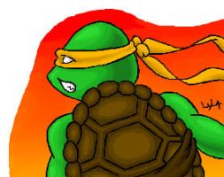 Michaelangelo from TMNT by somechick73