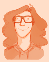 Danny got glasses by MerpdiDerp