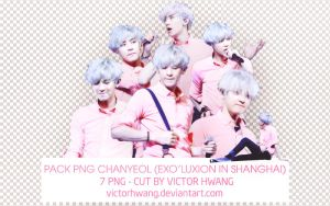 PACK PNG CHANYEOL (EXO LU'XION IN SHANGHAI) by victorhwang