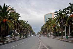 Beginning of Tunis by WorldsInWorld