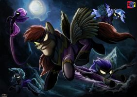 Come my Shadows by Jowybean