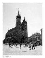 St. Mary's Cathedral, Krakow by Philosophical-Art
