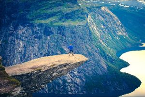 Closer To The Edge (Trolltunga, Norway) by JasperGrom