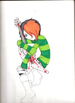 Left Handed Guitar by Cloeh2o