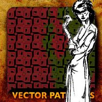 Vector Patterns, she Knows by paradox-cafe