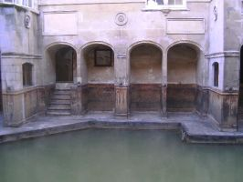 Roman bath stock 3 by motor-stock