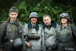 Wehrmacht in color by TanatosDevil