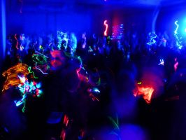 Sac-Anime 2009 Rave room II by SparksMcGhee