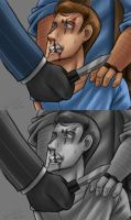 Scout abuse - Interrogation by Kirame90