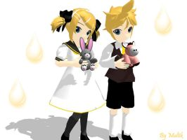 MMD Accessory Kagamine's toys by innaaleksui