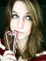 candy cane by PhotoBoothLoveXx