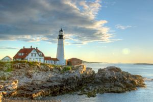 HDR Portland Head Lighthouse by KentGoldings