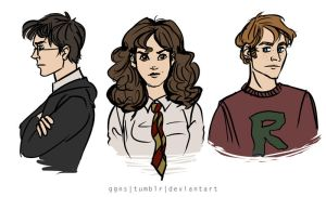golden trio by ggns