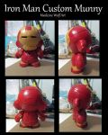 Iron Man Munny WIP by IkaikaDesign