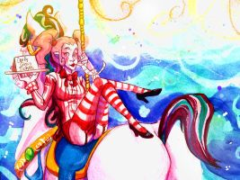 Candy Circus Secret Santa by BlackHarpyGoddess