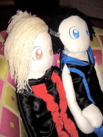 Adam and Tommy Plushies 3 by rayraylovesmikeyway