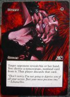 Magic Card Alteration: Duress 10-7 by Ondal-the-Fool