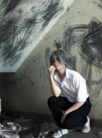 Evangelion Kaworu Nagisa Cosplay - Disturbed by SailorMappy