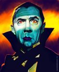 Bela Lugosi Color by markdraws