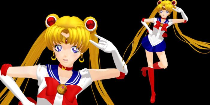 SAILOR MOON by YamiSweet
