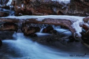 Log Across the River by mjohanson