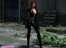 Black Widow 01 by mrbunnyart