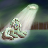 Lyra is alone. by Popprocks