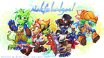 Wakfu Fan-Badge Set! by carnival