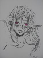 Some kind of Elf by crazygrin