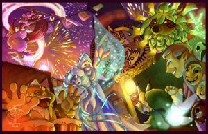 Clock Town Carnival by missgizmo