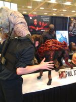 NF Comicon : Me vs Zombie Dog by TheWarRises
